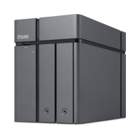 QSAN XCubeNAS XN3002T 2+1 Bay Tower NAS
